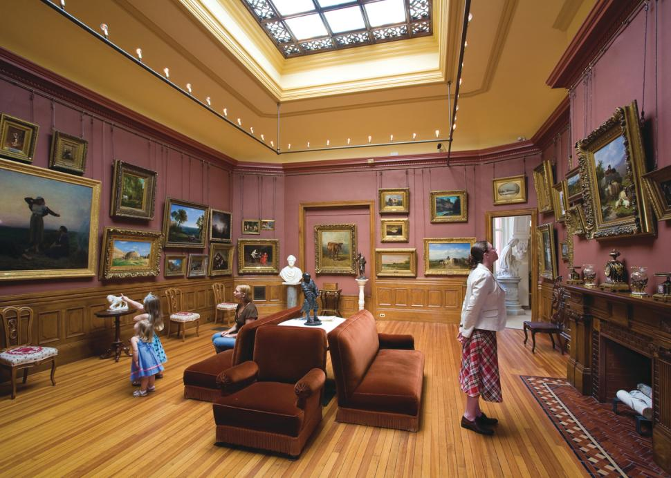 Arnot Art is a world-class museum and a landmark for over 100 years.