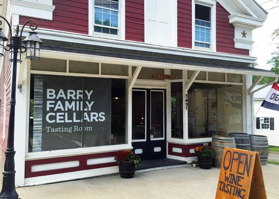 Barry Family Cellars Tasting Room