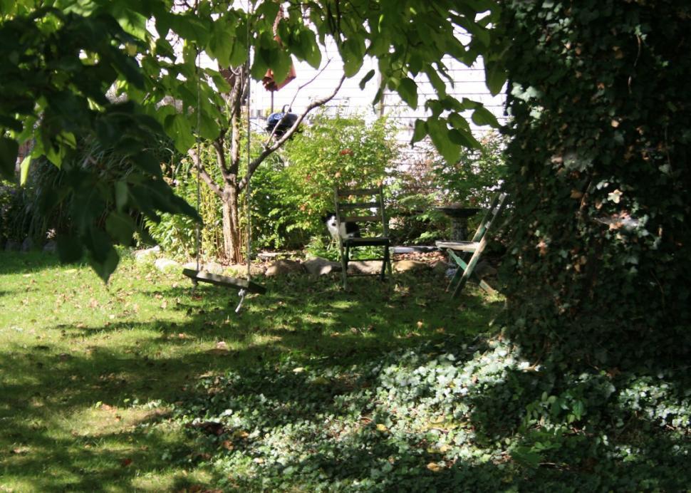 Garden seating at Bella Ella