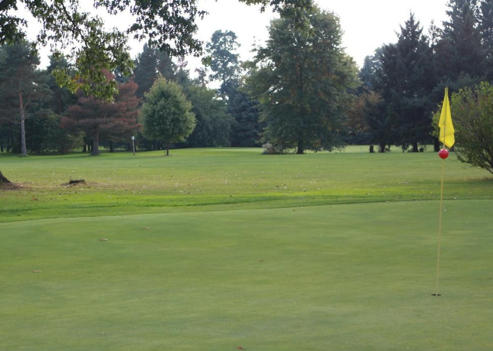 The course at Big Oak