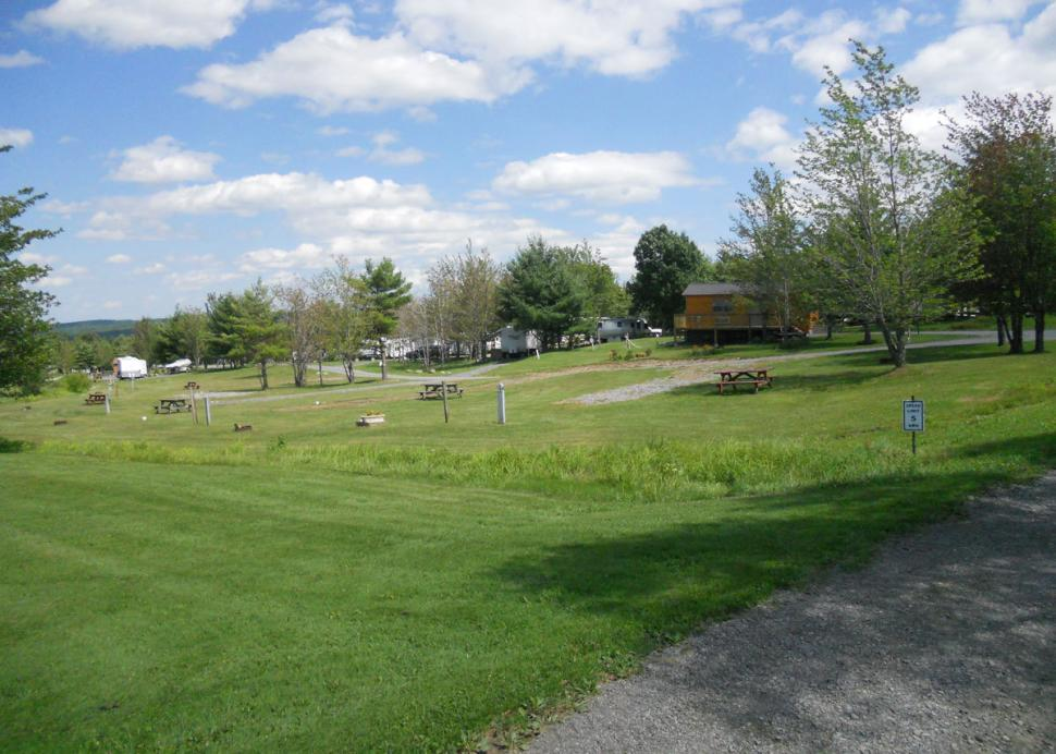 Grounds of Bristol Woodlands Campground