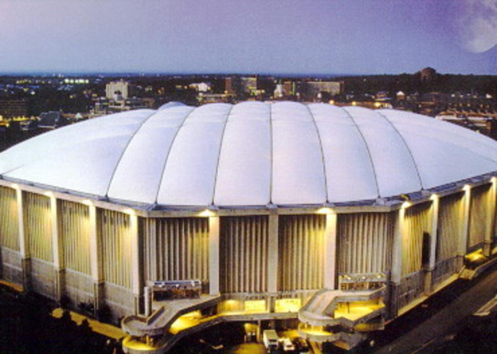 Carrier Dome - Exterior