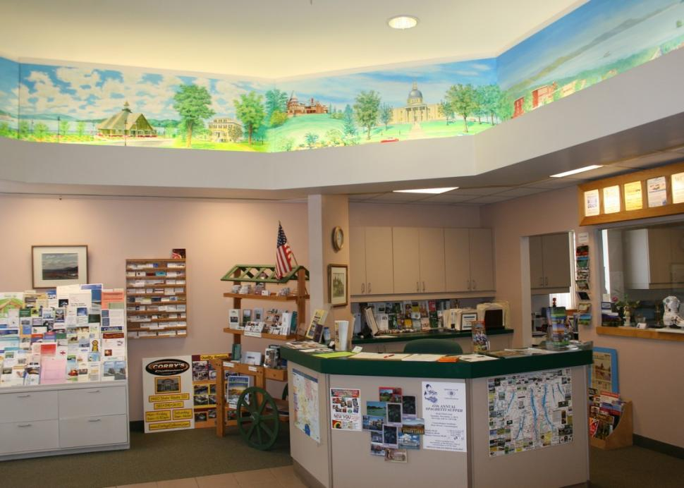 Tourist Center at the Canandaigua Chamber of Commerce