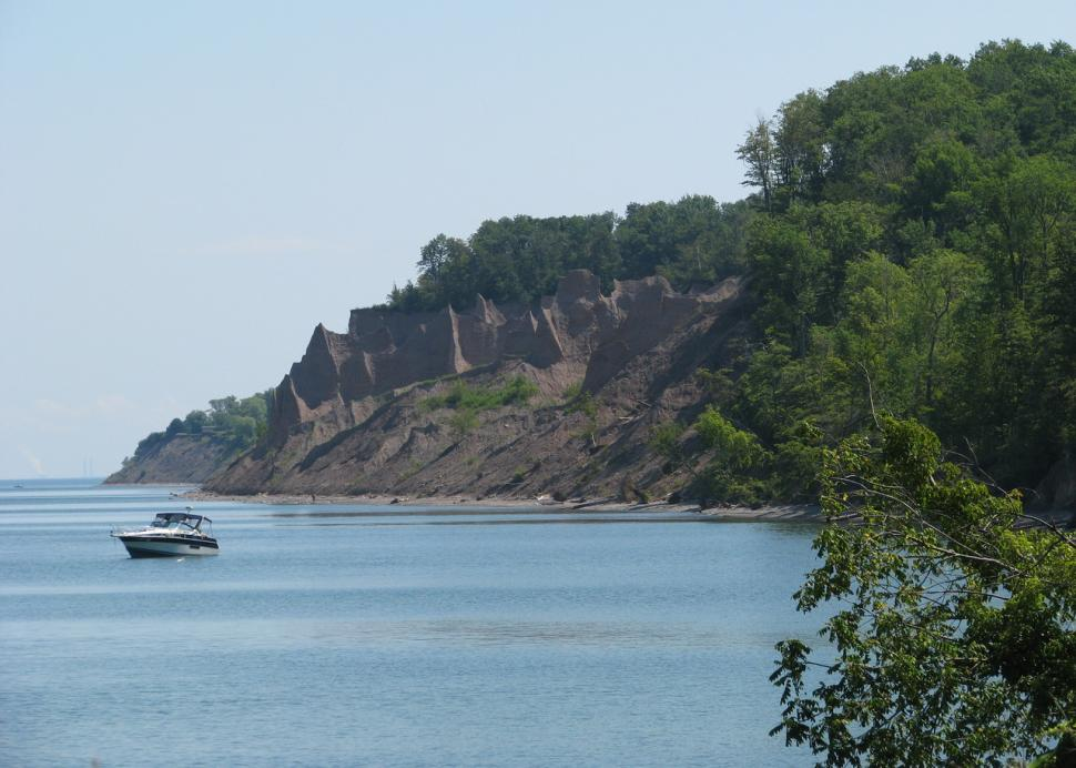 Chimney Bluffs