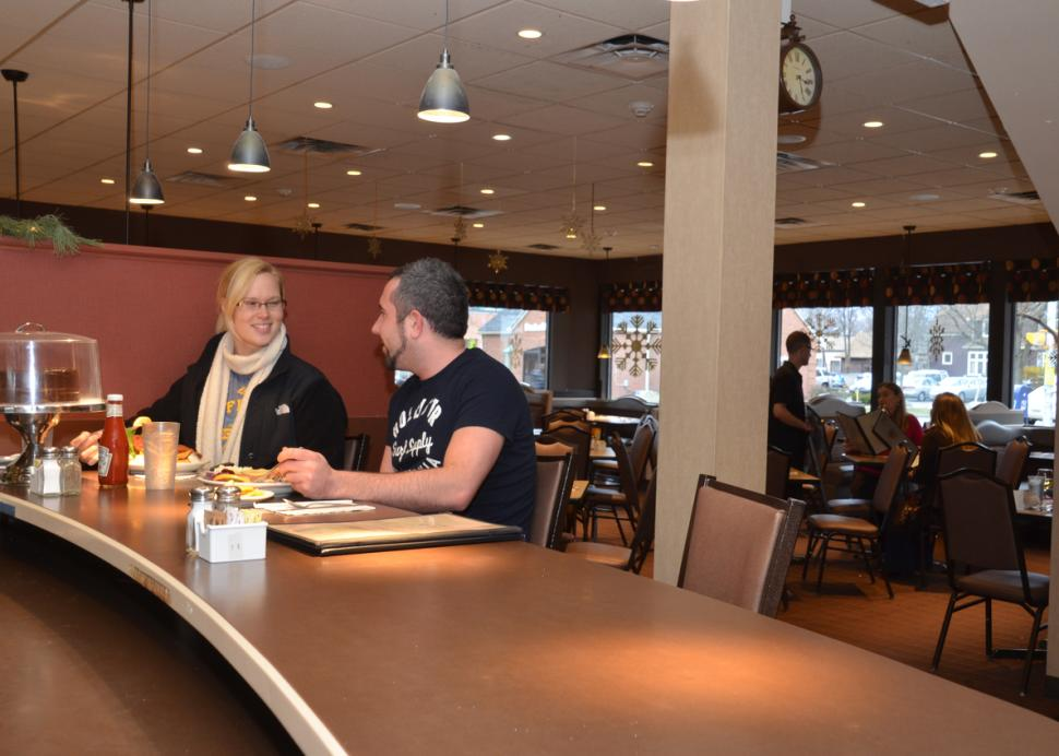 Dining at Jines, Rochester, NY