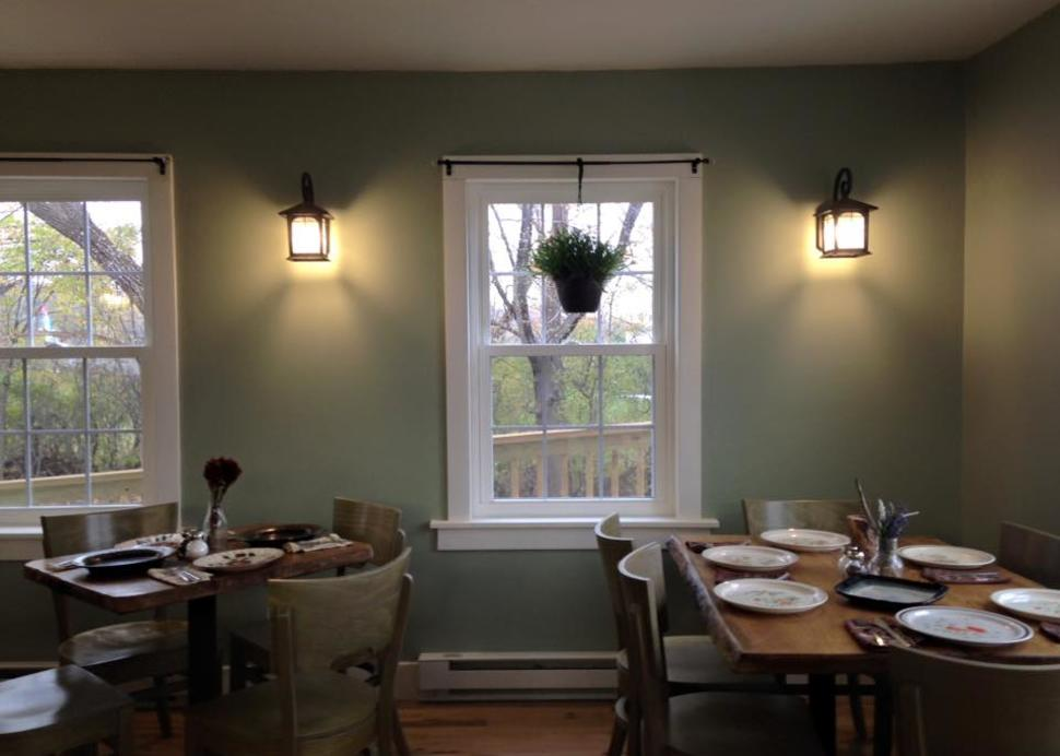Quaint dining on the Seneca Lake Wine Trail