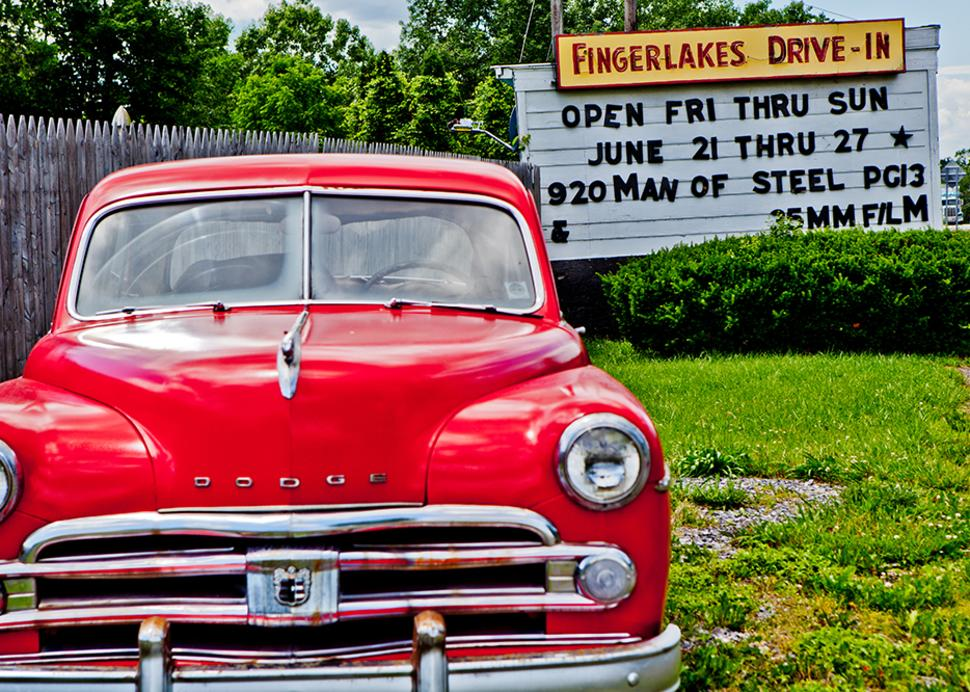 Finger Lakes Drive In Theater