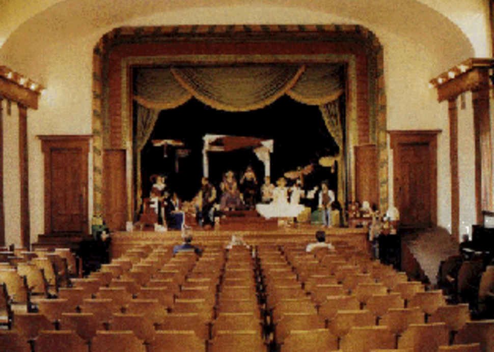 Morgan Opera House Interior