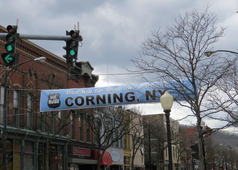 Corning, Most Fun Small Town in America