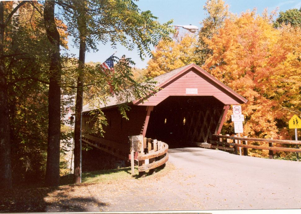Newfield Covered Bridge entry