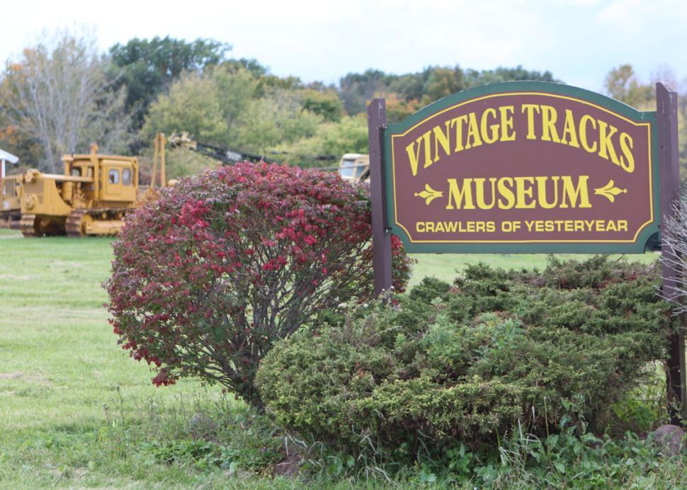 Vintage Tracks Sign
