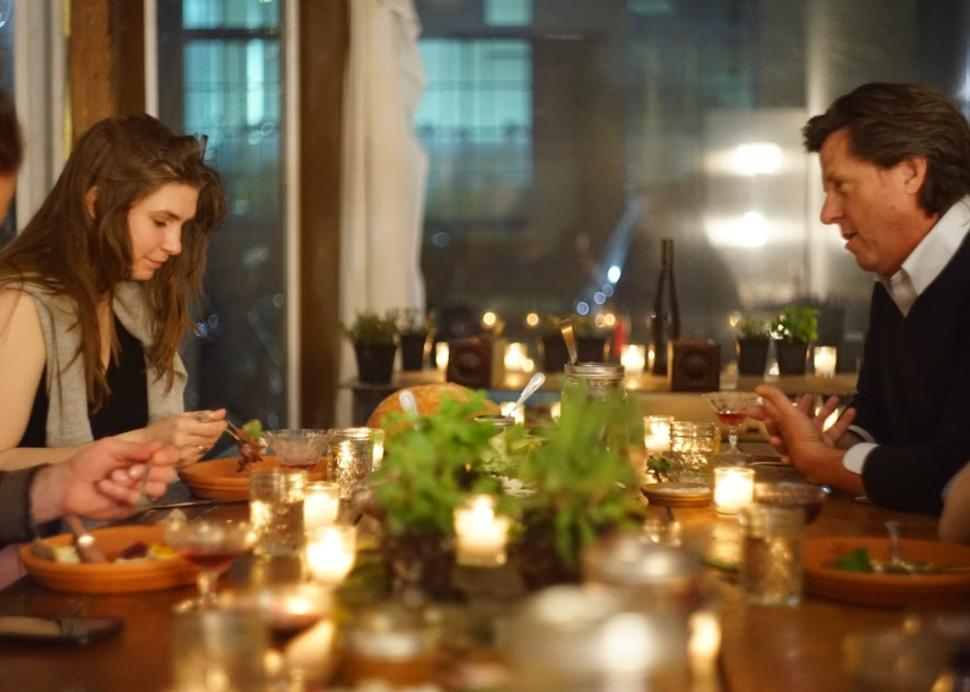 flx-table-guests-talking-over-flx-table-food