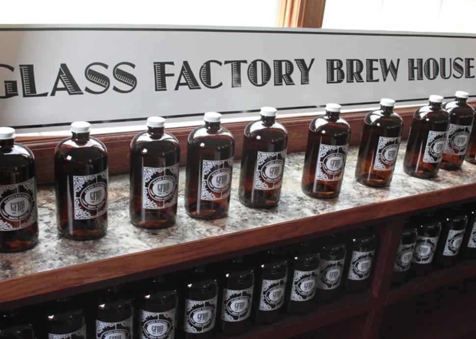 glass-factory-brew-house-geneva-sign-bottles
