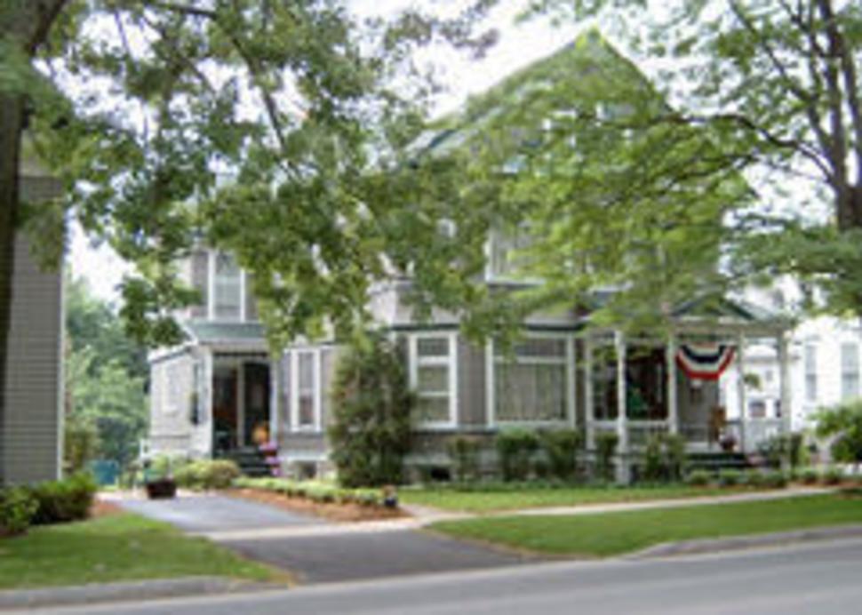 gray house