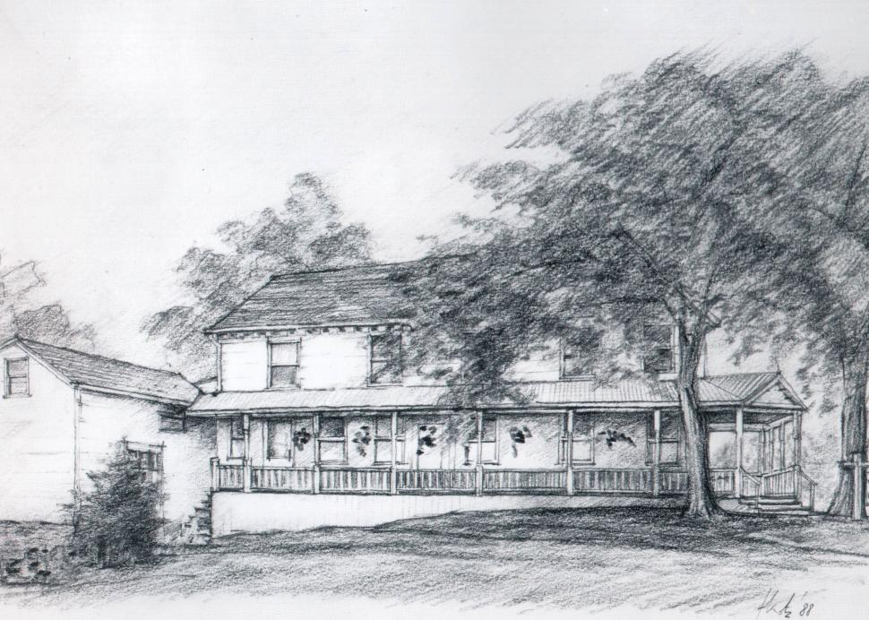 Cottage Views sketch