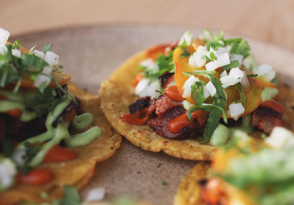 Pastor Tacos from Suerte in Austin Texas