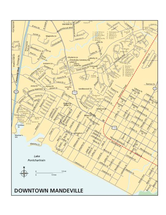 Maps of St. Tammany Parish | Covington, Slidell & Mandeville