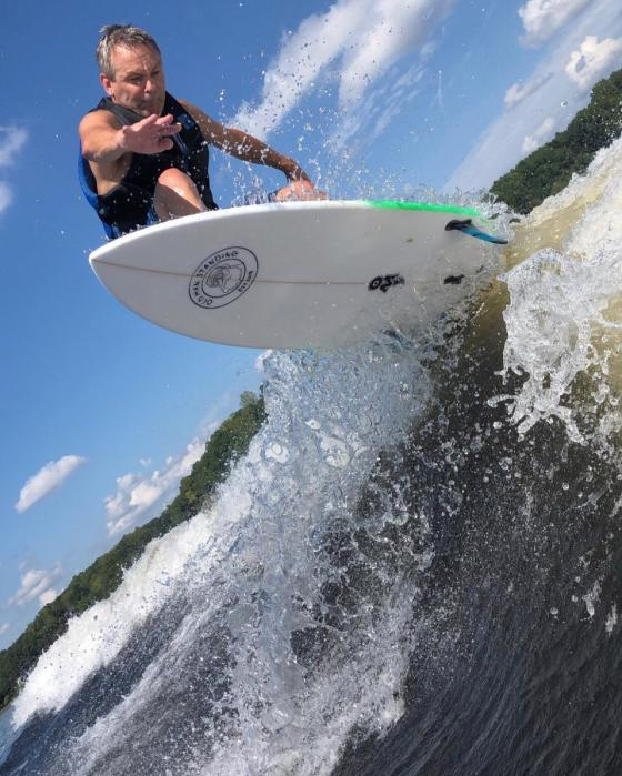 Wakeboarding and surf