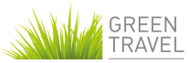 Green travel logo