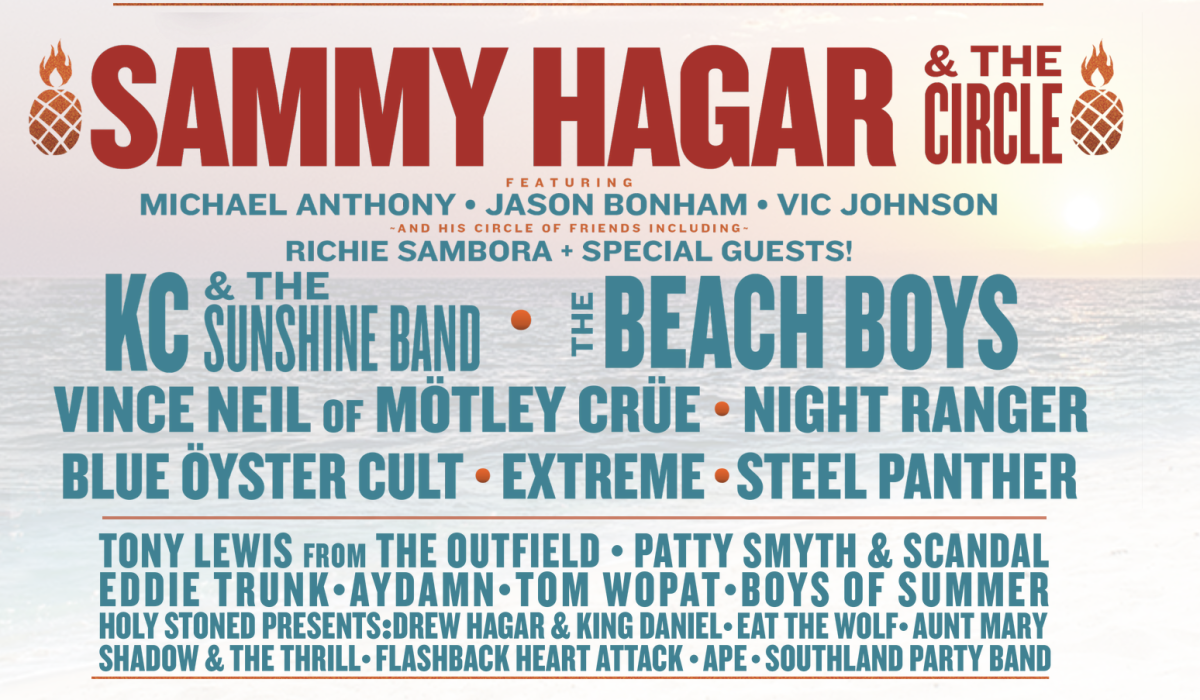 High Tide Beach Party Line up