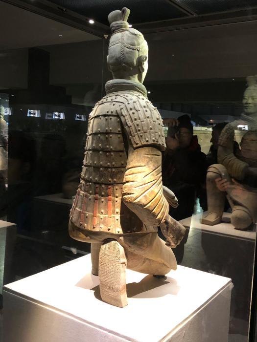 Terracotta Army kneeling archer