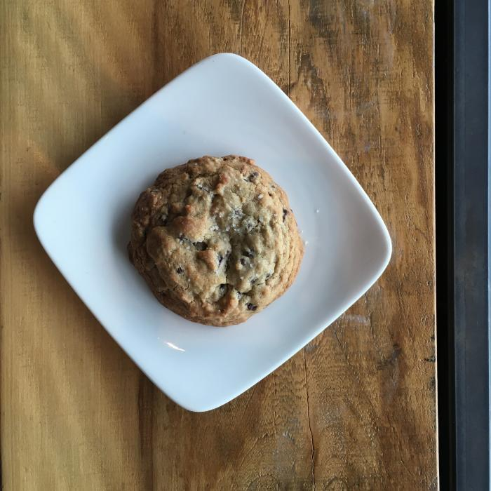 Red Dessert Dive Chocolate Chip Cookie
