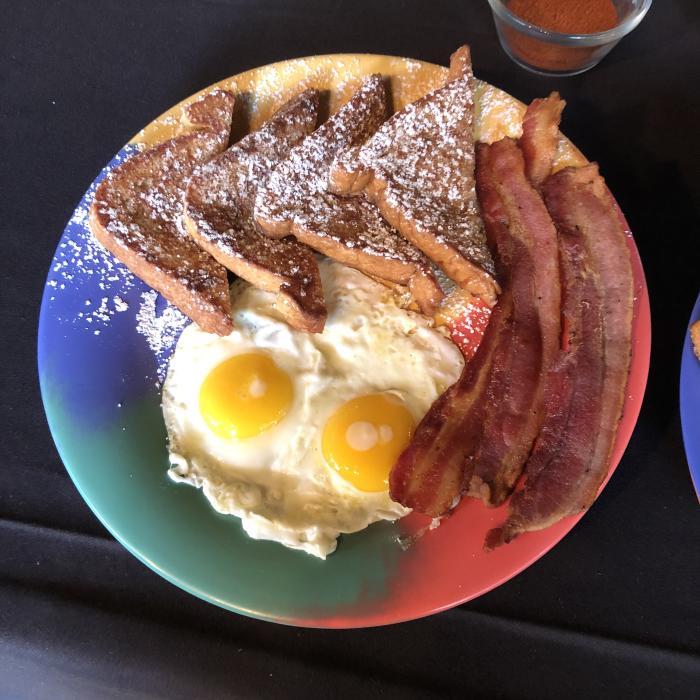 Breakfast KLUB french toast