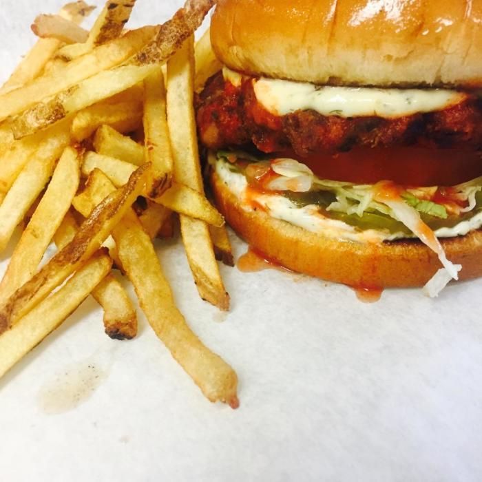 Old Sparky Burger - Huntsville