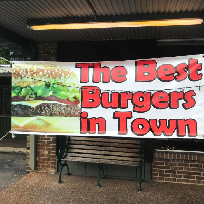 Best Burger in Town Banner