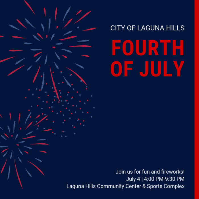 Laguna Hills 4th of July