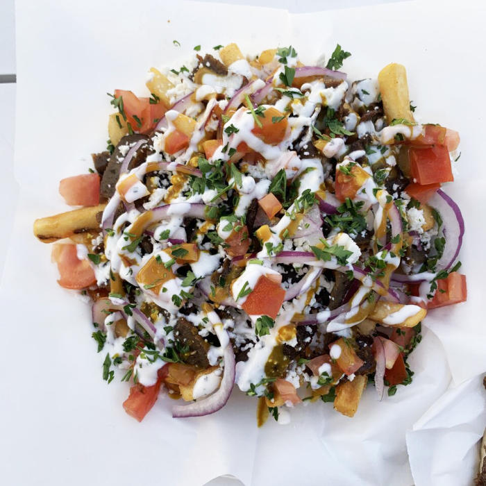 TRADE Irvine features Happy Hour Greek food at Gyro King