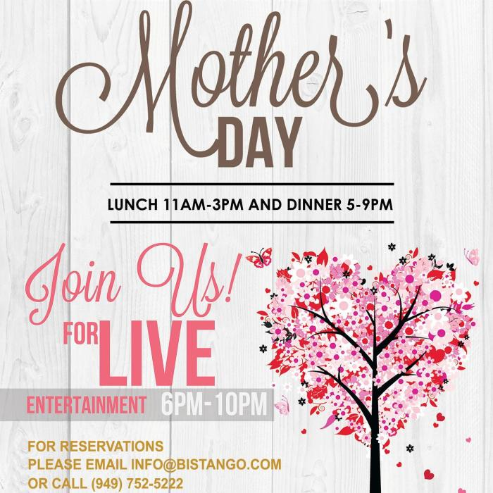 Bistango Irvine Mother's Day Square Event Banner