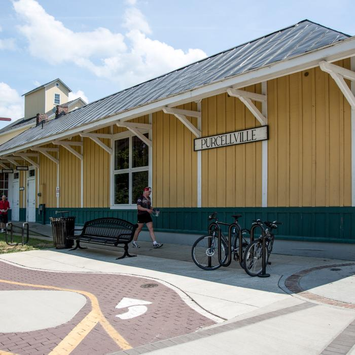Bike Trail Purcellville Train Station