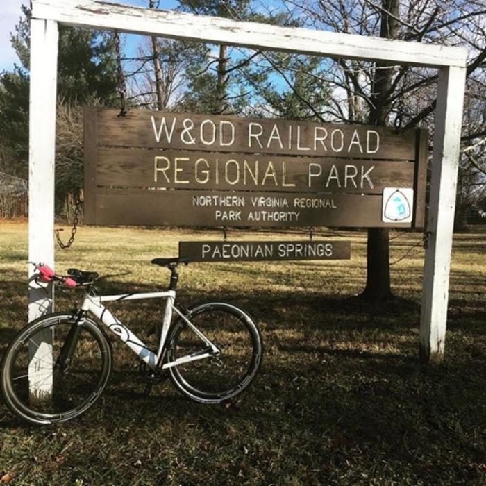 W&OD Trail - Loudoun County,  VA