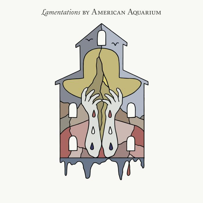 """Album Cover for American Aquarium's """"Lamentations"""""""