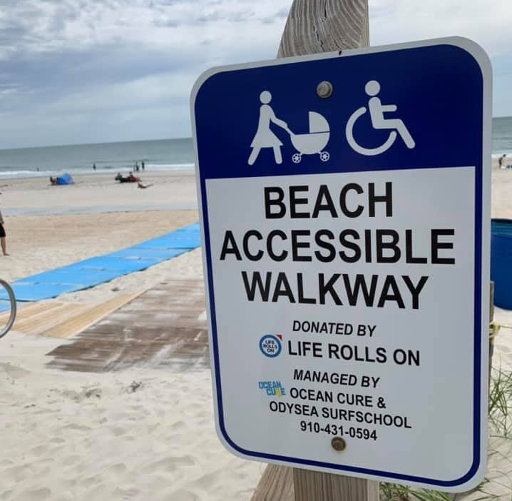 Copy of Beach Accessible Walkway