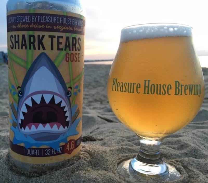 Shark Tears Gose Pleasure House Brewing