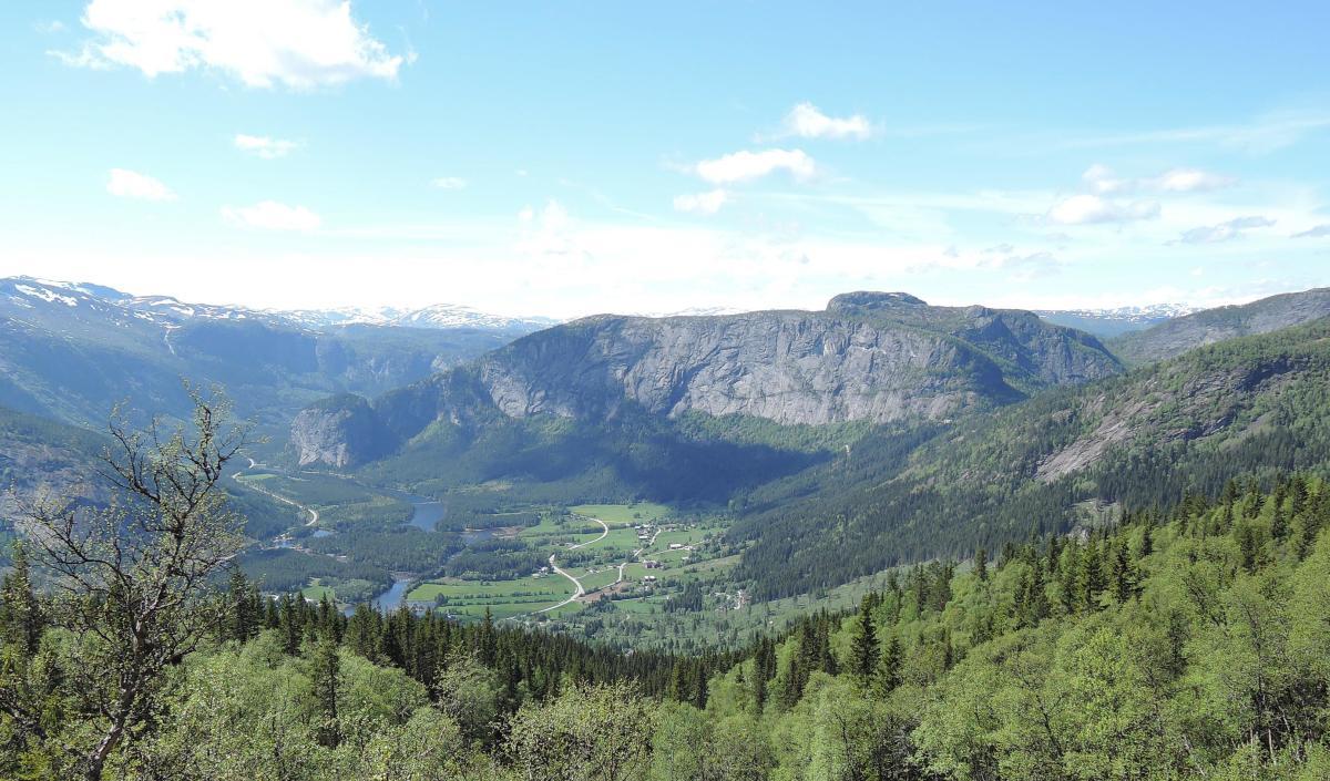Einang and Homfjellet