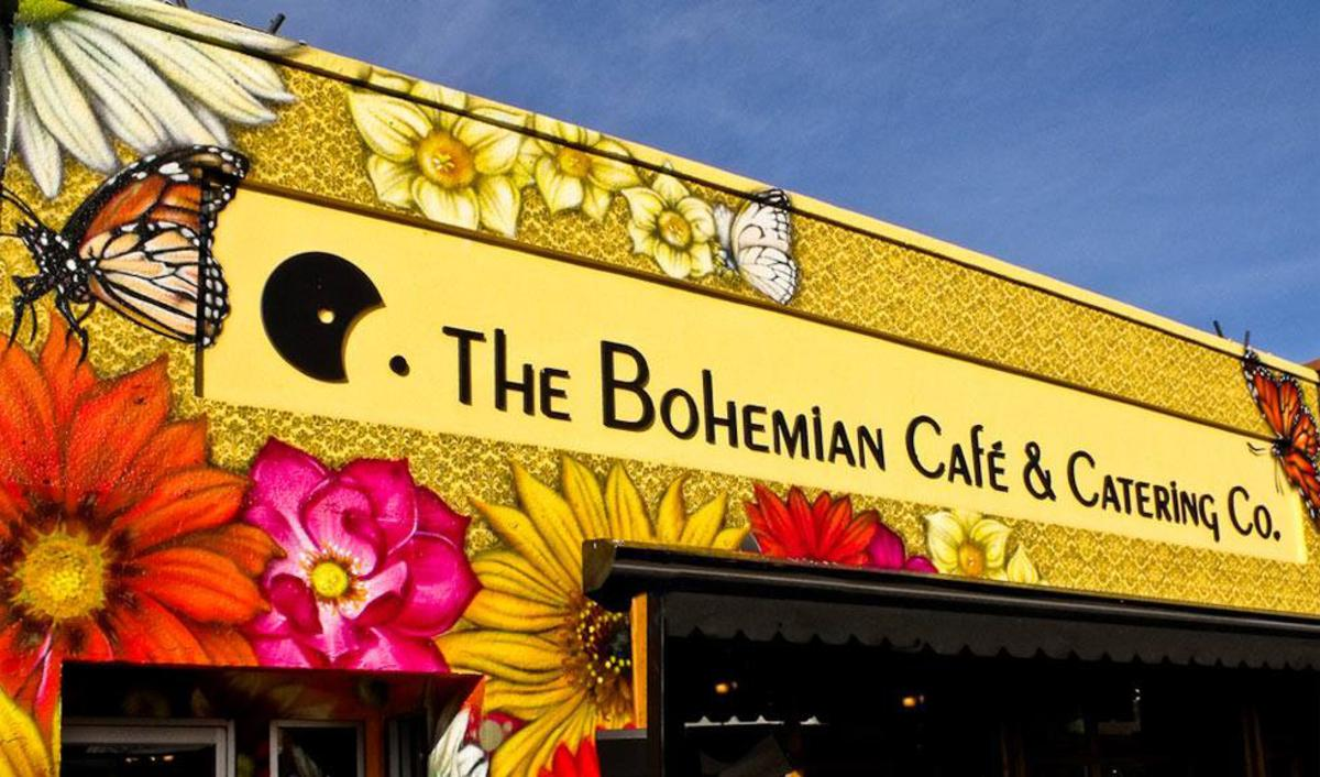 The Bohemian Cafe - Sign