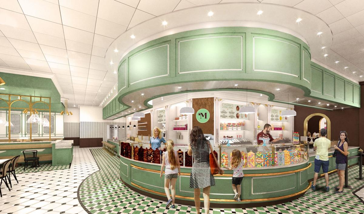 Milton's Ice Cream Parlor at Chocolatetown - Rendering 2020