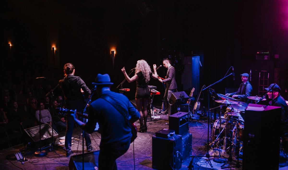 New Year's Eve with band Red Moon Road
