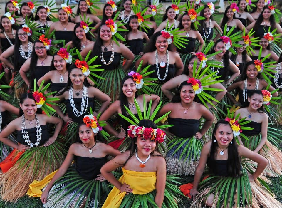 괌 개막식 축하공연