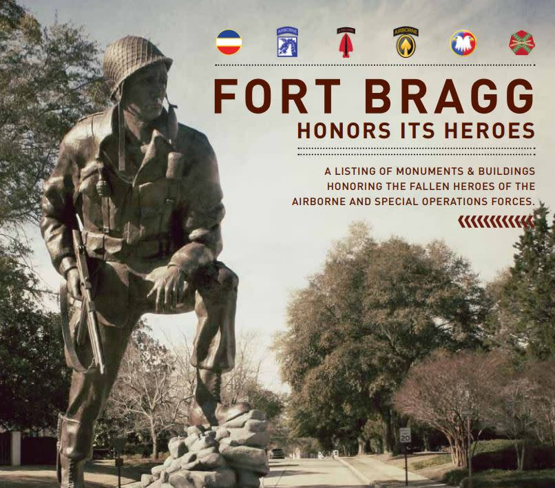 Fort Bragg Honors It's Heroes
