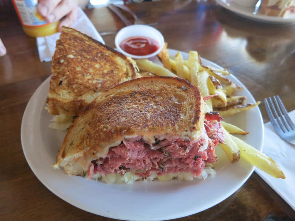 Feldman's Deli Reuben Sandwich