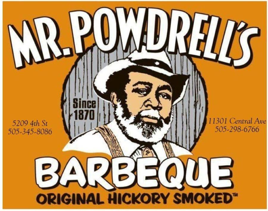 Mr. Powdrell's BBQ Logo