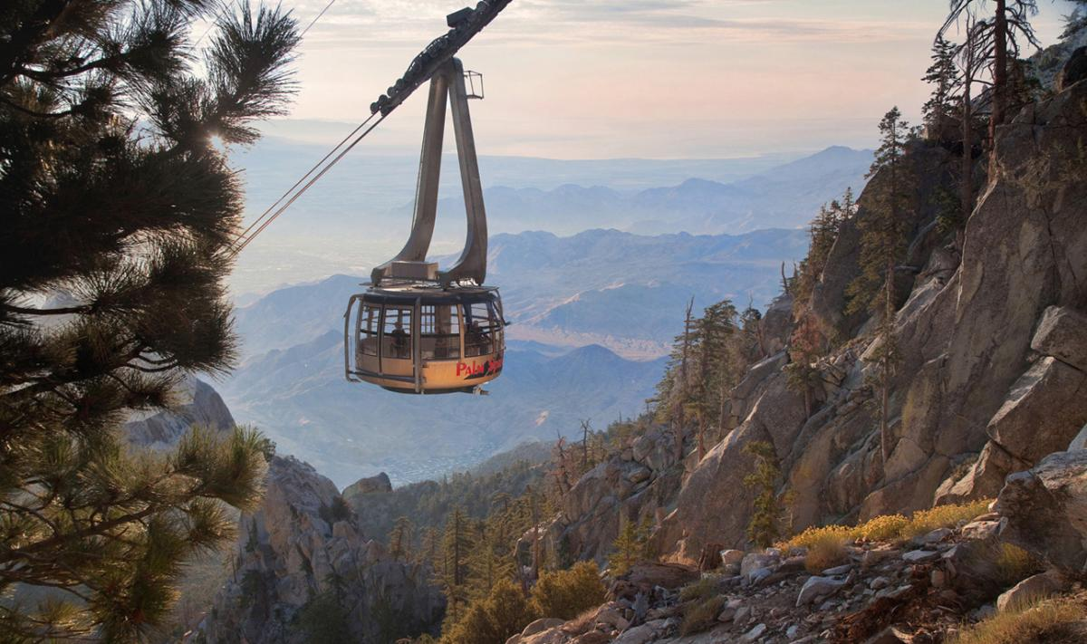 Tramcar-Palm Springs Aerial Tramway