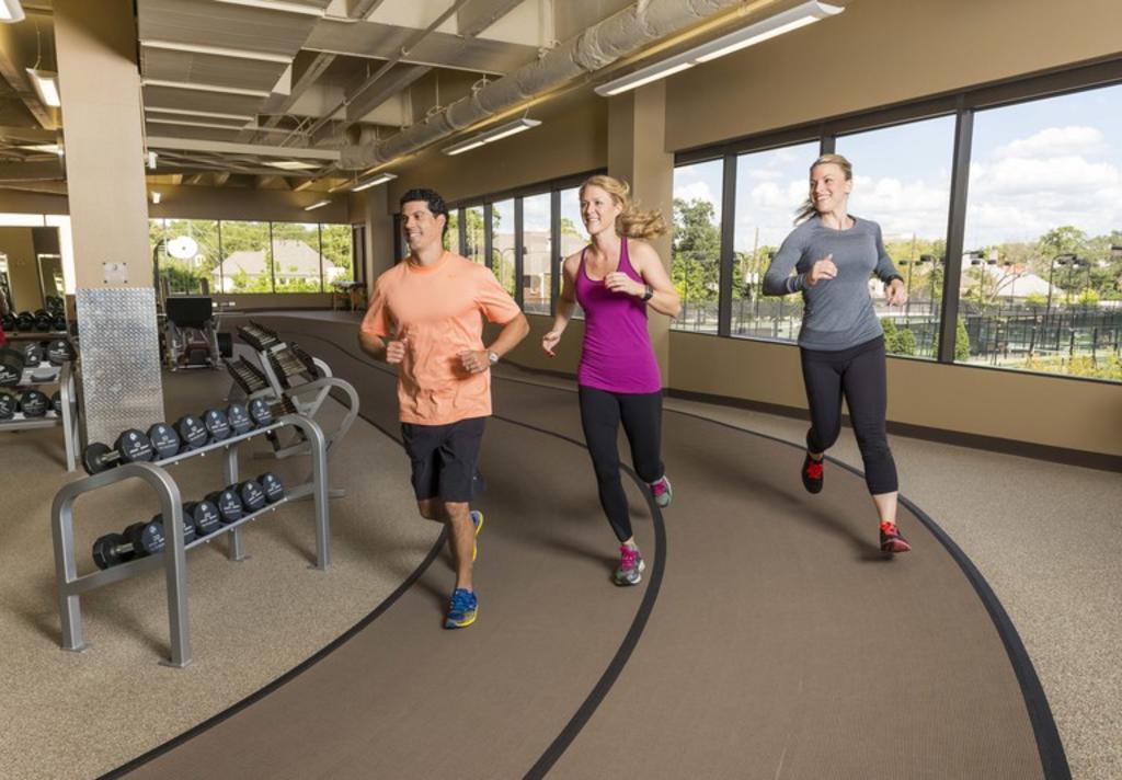 Houstonian Fitness Center Track