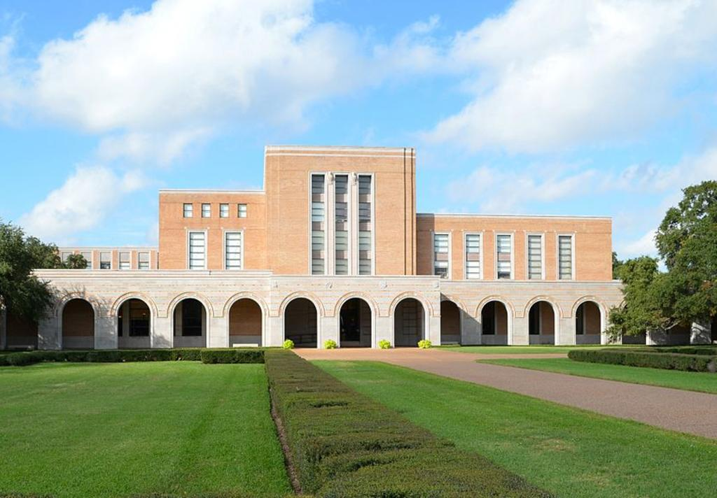 The Fondren Library at Rice University