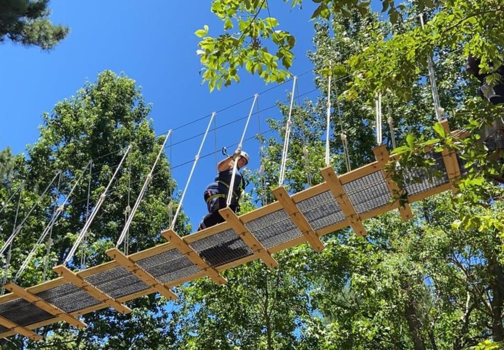 Geronimo - rope bridge