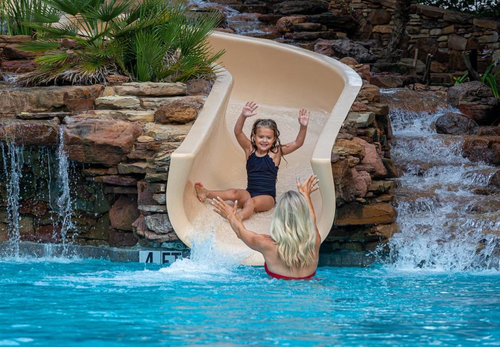 Girl On Slide/Labor Day